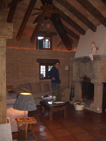 fotografía de interior de casa rural hecha por propietario