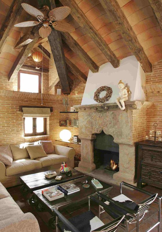 Fotografía de interior de casa de campo de reportaje fotográfico profesional. Qué es el Home Staging