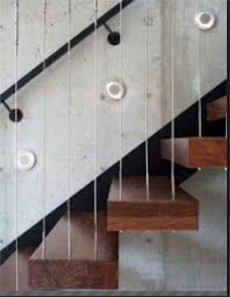 Barandillas ligeras en escaleras empresa de construccion for Escaleras ligeras